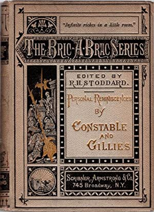 Personal reminiscences by Constable and Gillies.: Constable, Archibald; & R. P. Gillies.