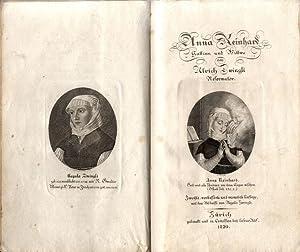 Anna Reinhard, Gattinn und Wittwe von Ulrich Zwingli, Reformator.: Hess, Salomon.