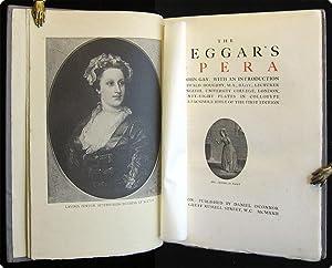 The beggar's opera.: Gay, John.