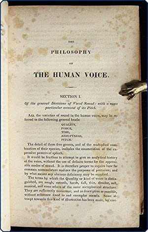 The philosophy of the human voice: embracing its physiological history; together with a system of ...
