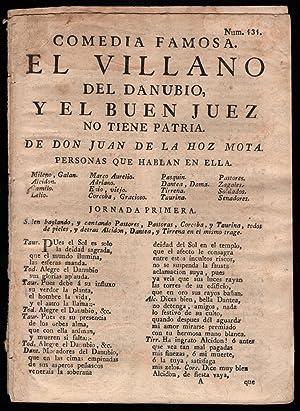 drop-title] Comedia famosa. El villano del Danubio, el buen uez no tiene patria.: Hoz y Mota, Juan ...