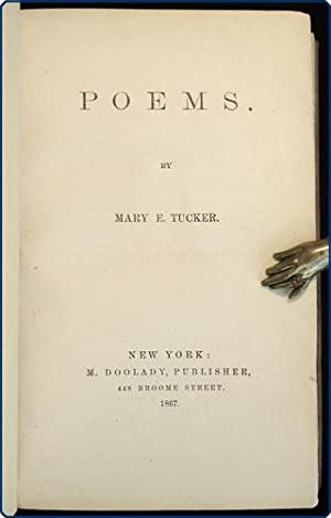 Poems.: Lambert, Mary Eliza Perine Tucker.
