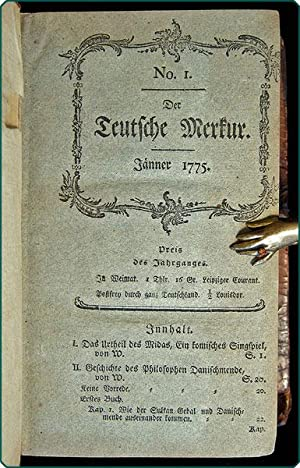 Der teutsche Merkur.: Wieland, Christoph Martin, ed.