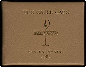 The cable cars.: Weber, Francis J.