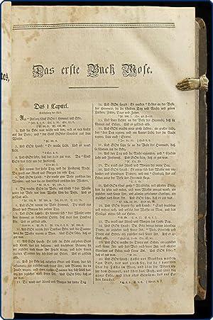 Biblia, das ist: Die ganze Heilige Schrift Alten und Neuen Testaments nach der deutschen ...