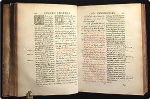 Polycarpi et Ignatii epistolae: una cum vetere vulgata interpretatione Latina, ex trium ...