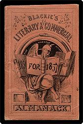Blackie's literary and commercial almanac. 1857.