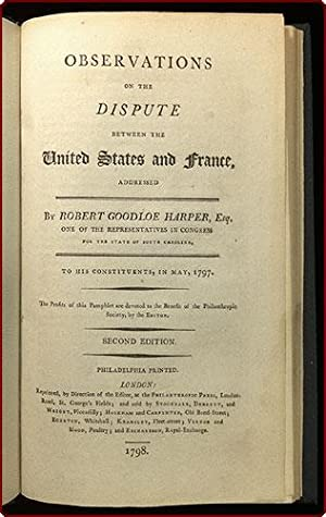 Observations on the dispute between the United States and France, addressed by . one of the ...