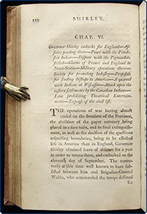 Continuation of the history of the province of Massachusetts Bay, from the year 1748. With an ...
