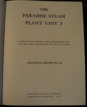 The Paradise Steam Plant Unit 3: the planning, design, construction, costs, and first power ...