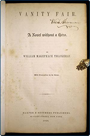 Vanity Fair. A novel without a hero.: Thackeray, William Makepeace.