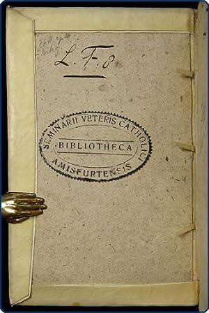 In poenitentiae sacramentum notae catecheticae, quibus eruditur poenitens, quam oris confessionem, ...