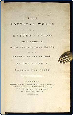 The poetical works . Now first collected, with explanatory notes, and memoirs of the author, in two...