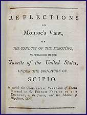 Reflections on Monroe's view, of the conduct of the executive, as published in the Gazette of ...