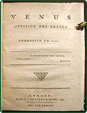 Venus attiring the graces.: English Political Satire PLUS).