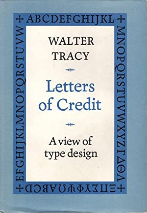 Letters of credit: a view of type: Tracy, Walter.