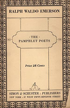 Ralph Waldo Emerson. The pamphlet poets.: Emerson, Ralph Waldo.