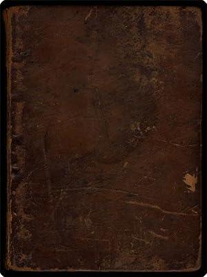 Biblia, das ist: Die Heilige Schrift Altes: Bible. German. 1743.