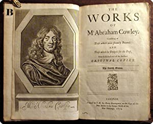 The works.consisting of those which were formerly printed: and those which he design'd for the...