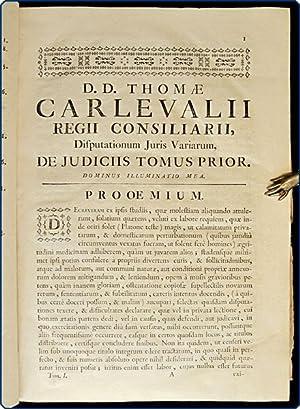 Disputationum juris variarum ad interpretationum regiarum legum regni Castellae, et illis similium,...