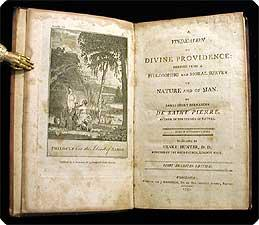 A vindication of divine Providence; derived from a philosophic and moral survey, of nature and of ...