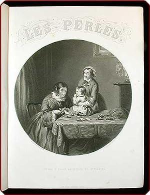 Les perles. Pi?ces d'?crin artistique et litt?raire.: Jacob, P.L. (i.e., Paul Lacroix).