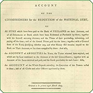 Account of the commissioners for the reduction of the national debt, of all sums which have been ...