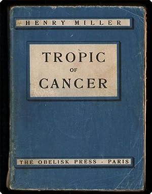 Tropic of Cancer.: Miller, Henry.