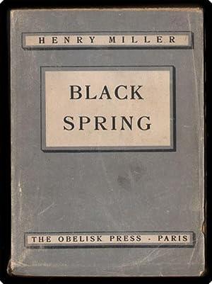 Black spring.: Miller, Henry.