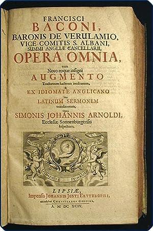 Opera omnia, cum novo eoque insigni augmento tractatuum hactenus ineditorum, & ex idiomate ...