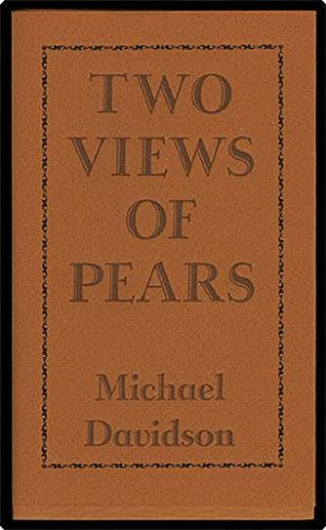 Two views of pears.: Davidson, Michael.