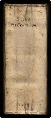 Sylva sylvarum, sive historia naturalis, in decem centurias distributa.: Bacon, Francis.