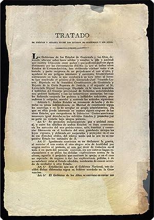 Tratado de amistad y alianza entre los estados de Guatemala y Los Altos.: Guatemala. Treaties.