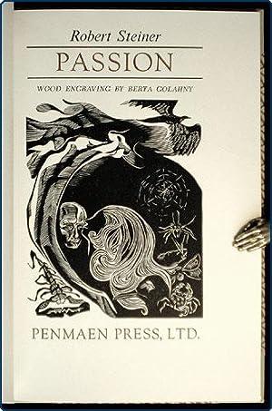 Passion. [with BROADSIDE] Books in print. Lincoln, MA: Penmaen Press, [1980?]. Folio (44.4 cm x ...