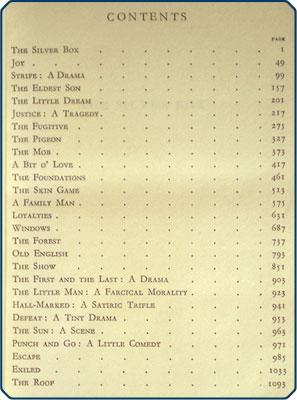 The plays.: Galsworthy, John.