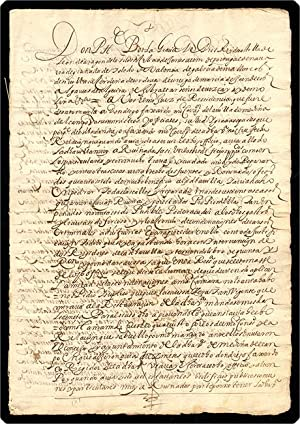 Manuscript document. On paper, in Spanish.: Philip IV, King of Spain.