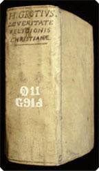 De veritate religionis christianae.: Grotius, Hugo.