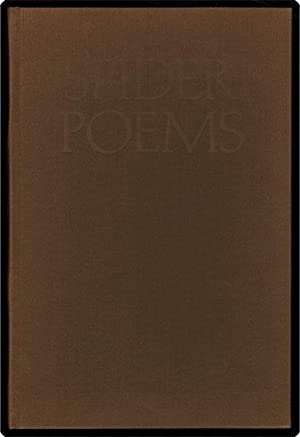 Spider poems.: Hall, Walter.