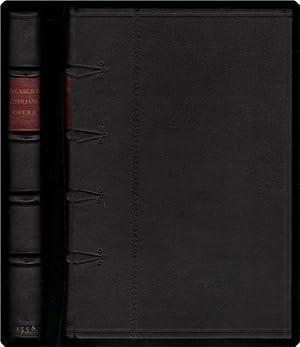 D. Caecilii Cypriani, episcopi carthaginensis & martyris, opera: per Des. Erasmum roterodamum ...