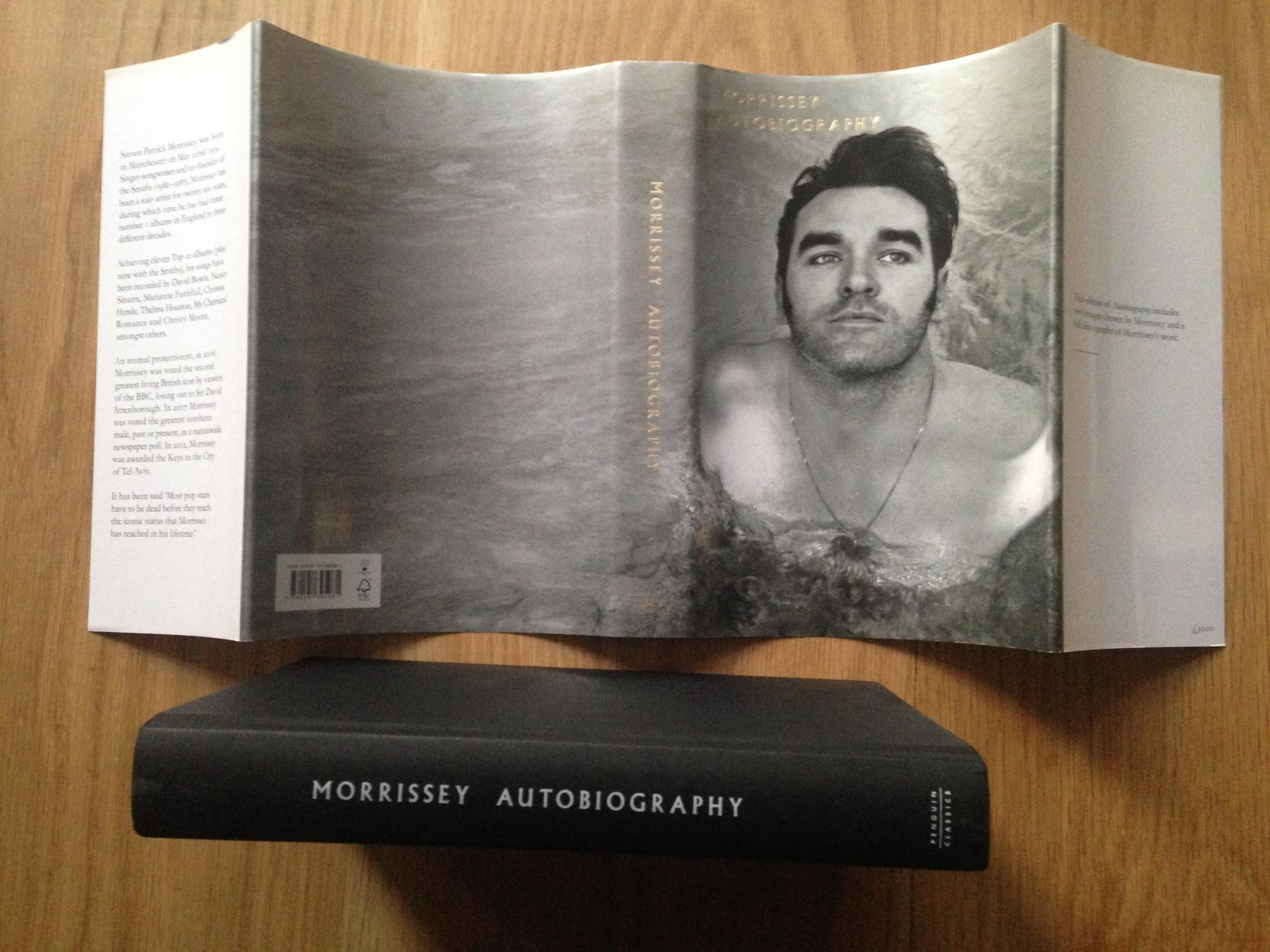 "Morrissey ""Autobiography"" audio book on CD 