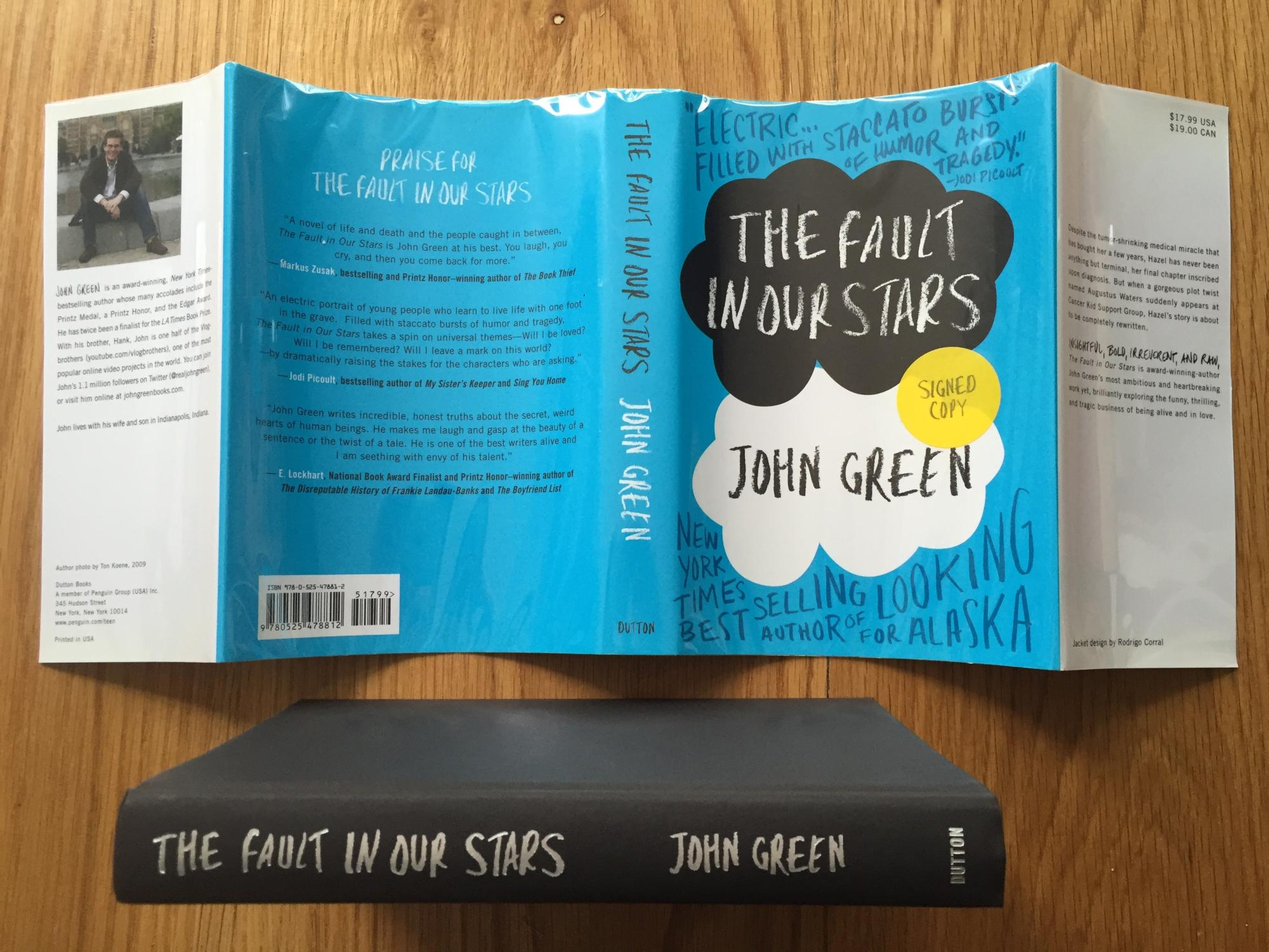 the fault in our stars indies choice book awards young