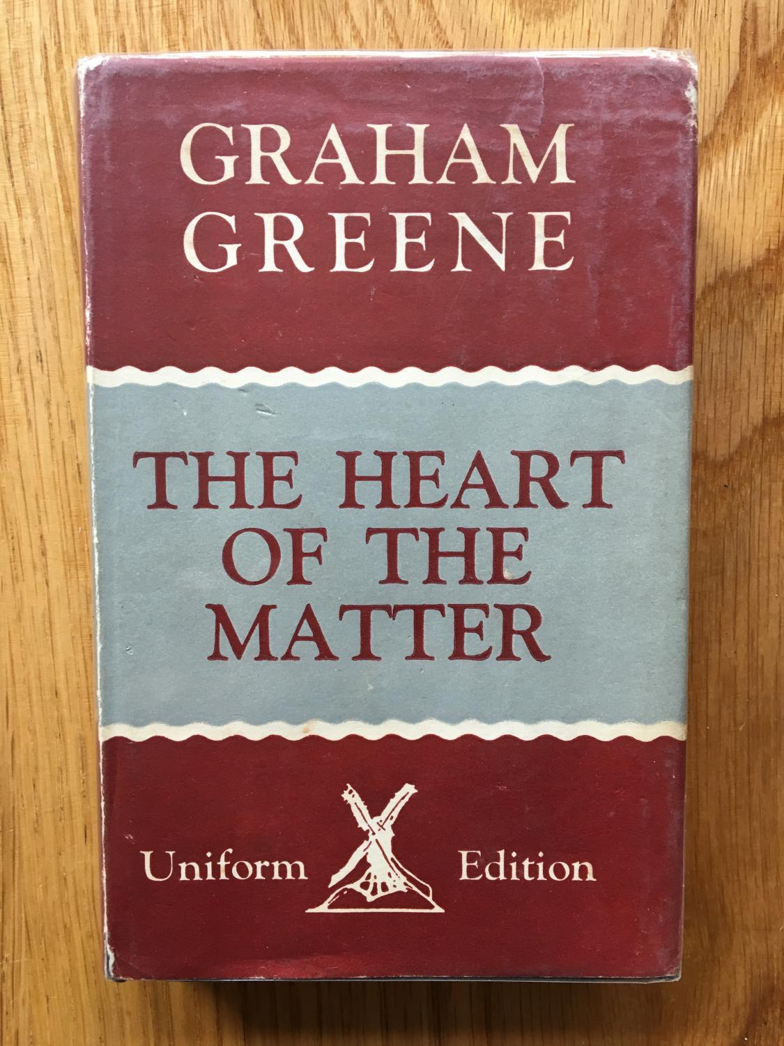 the heart of the matter by graham greene essays Journey without maps and the heart of the matter by graham greene comparison essay by the research group.