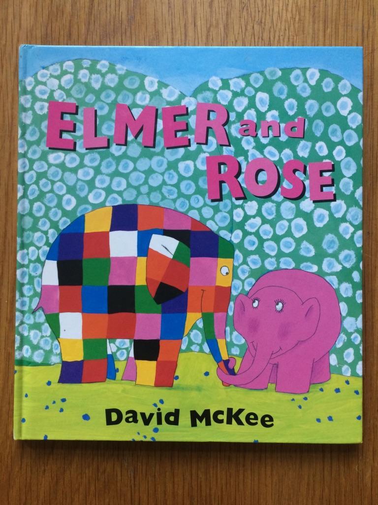 Elmer_and_Rose_David_McKee_Assez_bon_Couverture_rigide