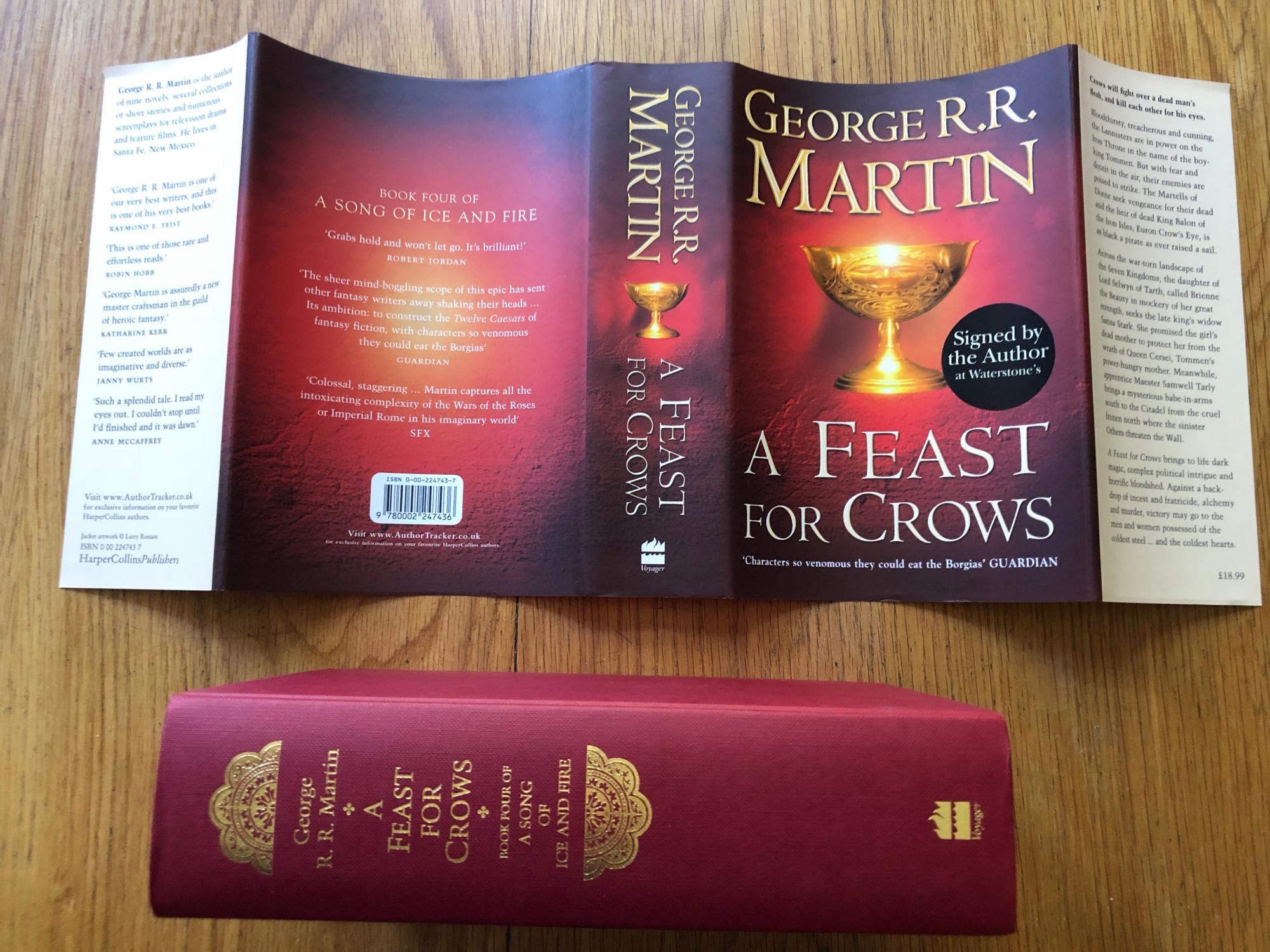 A Feast for Crows (A Song of Ice and Fire,