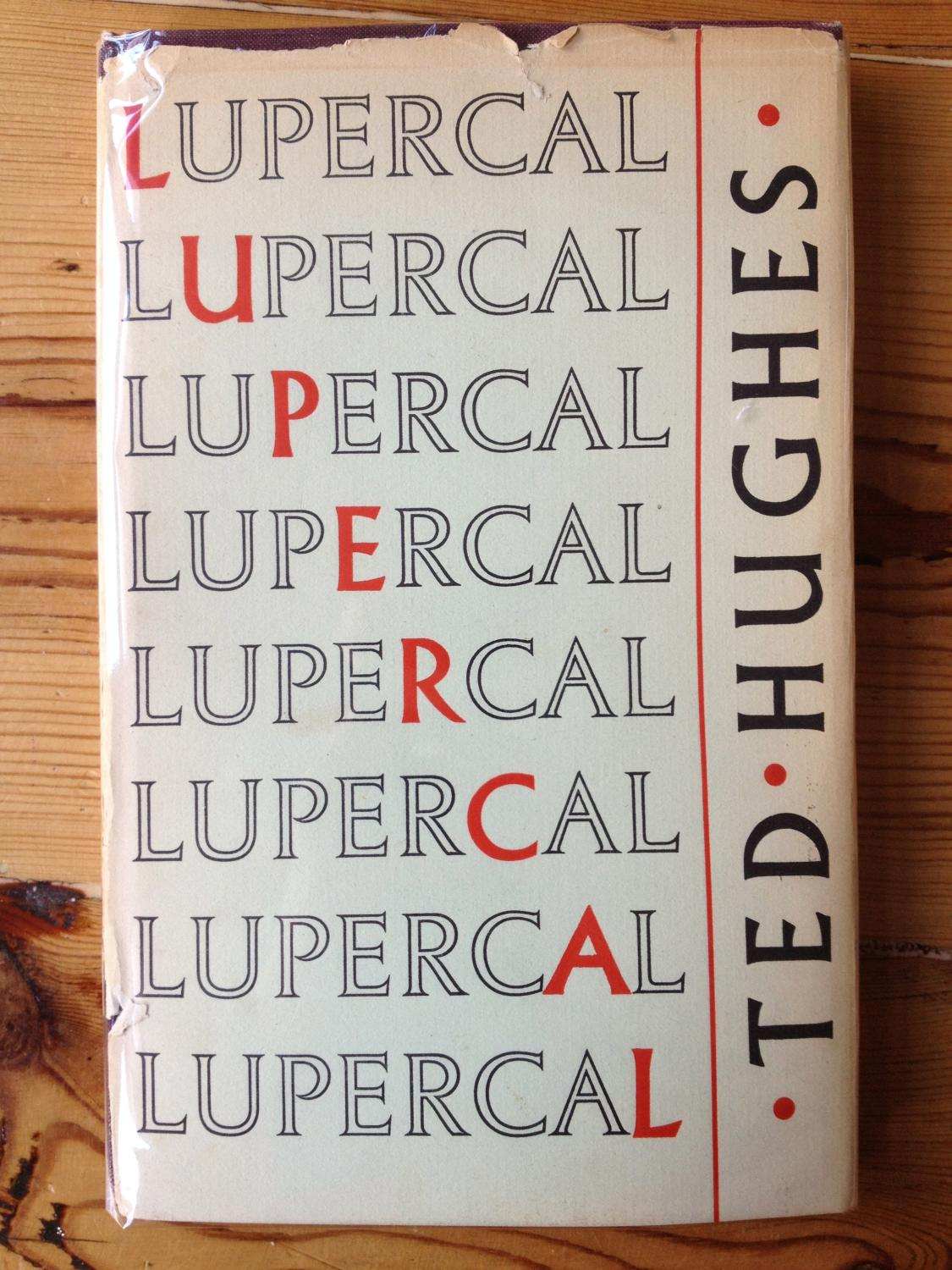 Lupercal By Ted Hughes Faber Hardcover 1st Edition border=