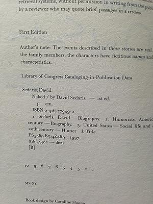 Naked: Sedaris, David