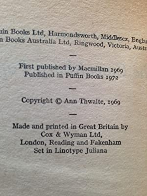 The Camelthorn Papers: Ann Thwaite