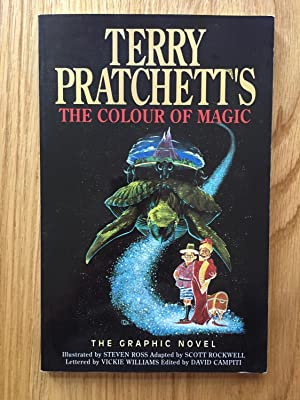 the colour of magic a graphic terry pratchett - The Color Of Magic Book