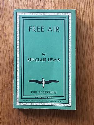 Free Air: Sinclair Lewis