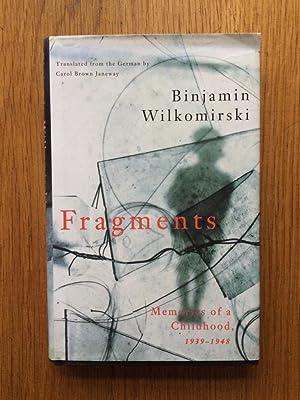 Fragments: Binjamin Wilkomirski